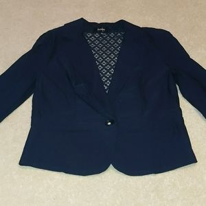 By & by Navy blue one button blazer